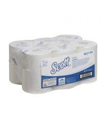 Scott Control Slimroll wit 2 laags - 6x150m