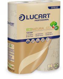 Toiletpapier rol Natural 2lgs - 30x400vellen