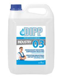 Dipp 03 Krachtige industriële ontvetter Multi Pro - 5ltr
