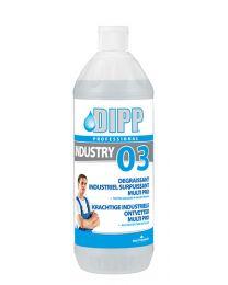 Dipp 03 Krachtige industriële ontvetter Multi Pro - 1ltr