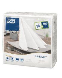 Tork Linstyle dinerservetten 1/4 vouw wit 40cm (600 stuks)
