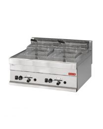 Gastro M 650 gas friteuse 2x 8L 65/70 FRG