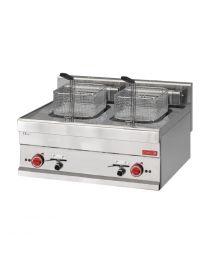 Gastro M 650 elektrische friteuse 2x 10L 60/70 FRE