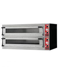 Gastro M pizzaoven met 2 kamers type Milan 2
