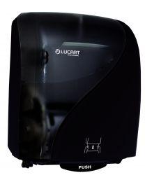 Handdoekroldispenser Lucart Identity zwart