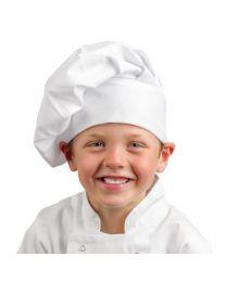 Whites koksmuts voor kinderen wit