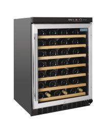 Polar G-serie tafelmodel wijnkoeling met RVS deur 54 flessen