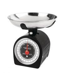 Weighstation zwarte weegschaal 5kg