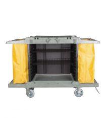 Jantex huishoudwagen met 2 zakken