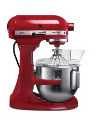 KitchenAid K5 Heavy Duty mixer rood