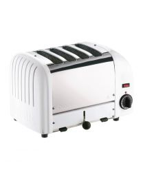 Dualit Vario broodrooster 4 sleuven wit 40355