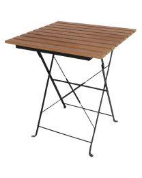 Bolero vierkante imitatiehouten tafel 60cm