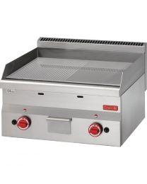 Gastro M 600 gas bakplaat 60/60 FTRG-CR