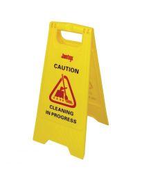 "Jantex waarschuwingsbord ""Cleaning in progress"""