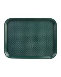 Kristallon dienblad plastic 305x415mm groen