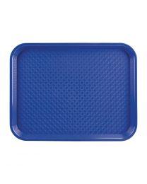 Kristallon dienblad plastic 305x415mm blauw