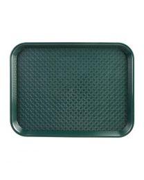 Kristallon dienblad polyprop 35x45cm groen