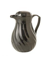 Kinox koffie isoleerkan zwart 1,8L