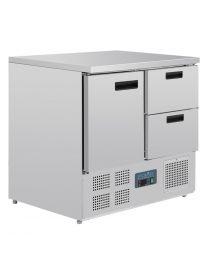 Polar G-serie koelwerkbank 1 deur en 2 laden 240L
