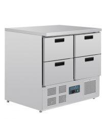 Polar G-serie koelwerkbank 4 laden 240L